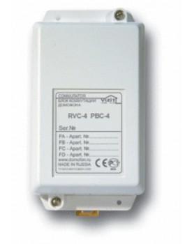 Розгалужувач відеосигналу домофона РВС-4М