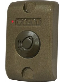 Считыватель ключей VIZIT-RF3 (RFID-13.56МГц) для контроллера VIZIT-КТМ600F, VIZIT-КТМ602F RD4F